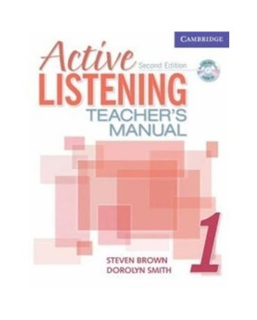 Active Listening 1 - Teacher's Manual With Audio CD - Second Edition