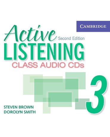 Active Listening 3 - Class Audio Cds - Second Edition