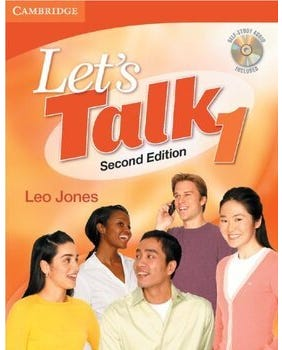 Let's Talk 1 - Student's Book With Self-Study And Audio CD - Second Edition