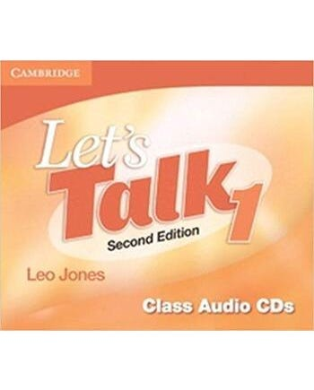 Let's Talk 1 - Class Audio Cd's - Second Edition