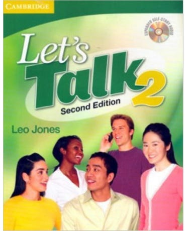 Let's Talk 2 - Student's Book With Self-Study Audio CD - Second Edition