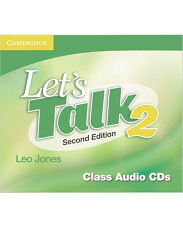 Let's Talk 2 - Class Audio Cd's - Second Edition