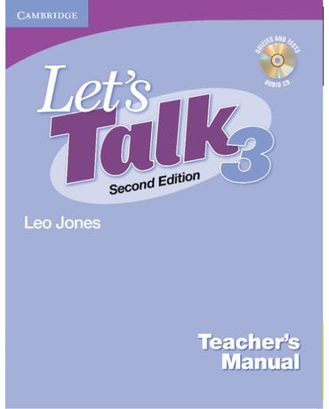 Let's Talk 3 - Teacher's Manual With Audio CD - Second Edition
