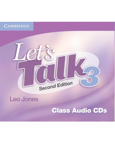 Let's Talk 3 - Class Audio Cd's - Second Edition