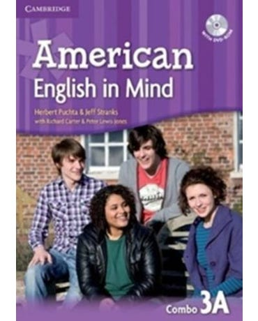 American English In Mind 3A - Student's Book With Workbook And DVD-ROM