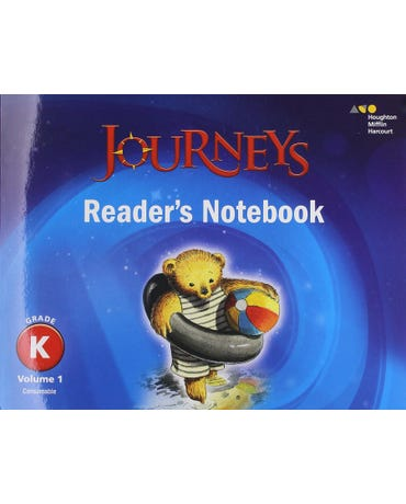 Journeys - Grade K - Volume 1 - Reader's Notebook