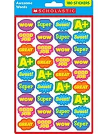 Awesome Words Stickers