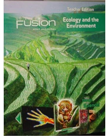 Science Fusion - Teacher Edition - Grades 6-8 - Module D: Ecology And The Environment