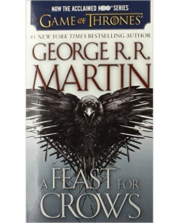 A Feast For Crows - A Song Of Ice And Fire - Book 4 - Mass Market Paperback