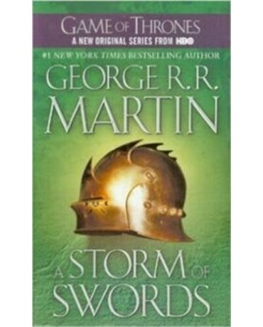 A Storm Of Swords - A Song Of Ice And Fire - Book Three - Mass Market Paperback