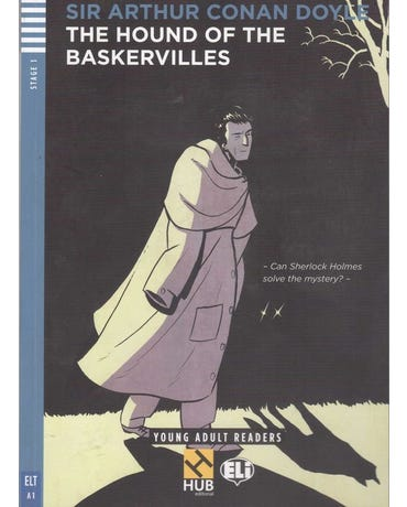 The Hound Of The Baskervilles - Hub Young Adult Readers - Stage 1 - Book With Audio CD