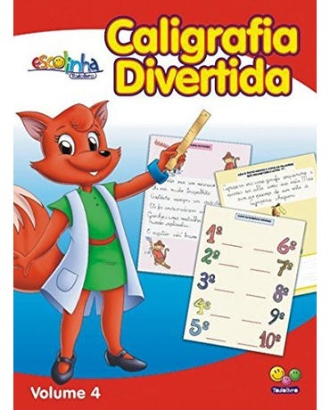 Caligrafia Divertida - Volume 4