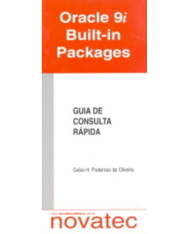 Oracle 9I Built-In Packages - Guia De Consulta Rápida