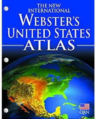 The New International Webster's United States Atlas