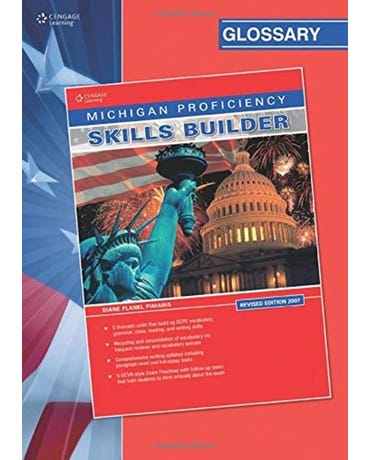 Michigan Proficiency Skills Builder Glossary