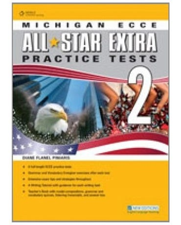 Michigan Ecce All Star Extra Practice Tests 2 - Student Book