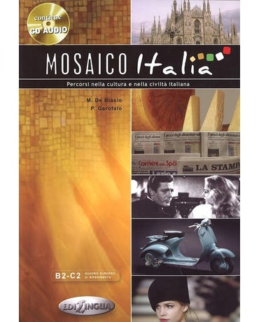 Mosaico Italia - Libro Con CD Audio