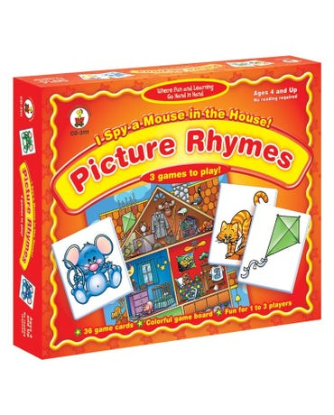 I Spy A Mouse In The House! Picture Rhymes - Id 3111