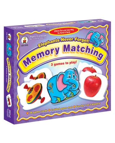 Elephants Never Forget - Memorymatching - Id 3110