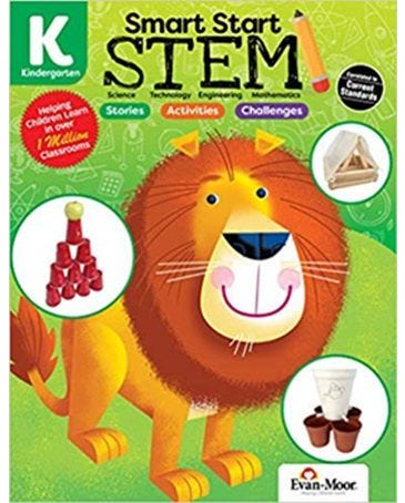 Smart Start Stem Grade K - Stories, Activities And Challenges - Book