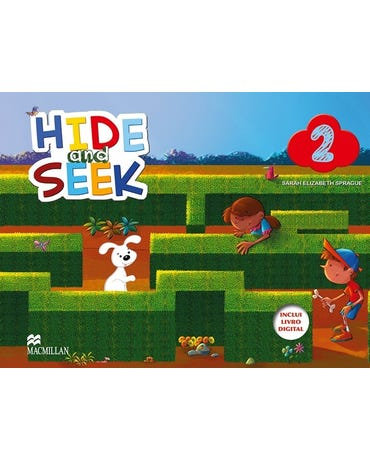Promo - Hide And Seek 2 - Student's Book - Book With Audio CD And Digital Book