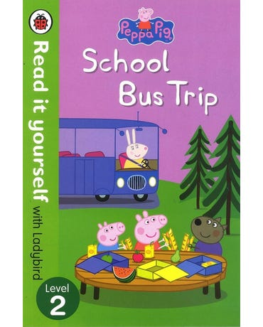 Peppa Pig - School Bus Trip - Read It Yourself With Ladybird - Level 2