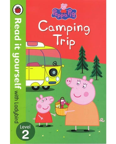 Peppa Pig - Camping Trip - Read It Yourself With Ladybird - Level 2