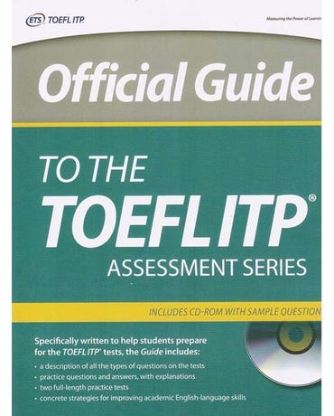 Official Guide To The TOEFL® Itp - Assessment Series - Book With CD-ROM And Sample Questiones