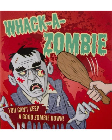 Whack-A-zombie With Inflatable Zombie