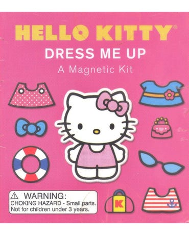 Hello Kitty - Dress Me Up - A Magnetic Kit
