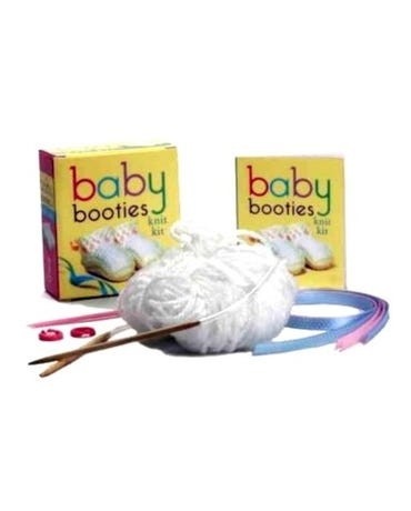Baby Booties - Knit Kit