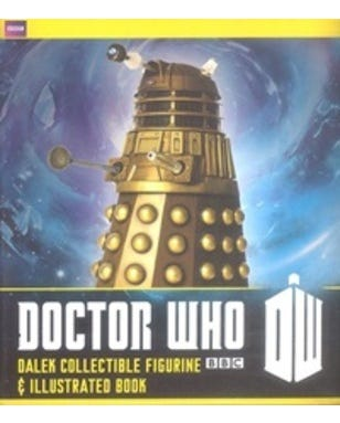 Doctor Who - Dalek Collectible Figurine And Illustrated Book