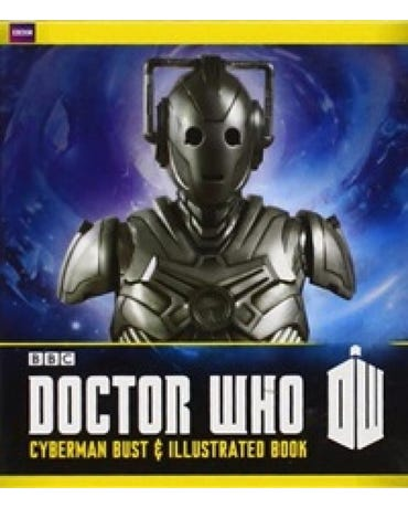 Doctor Who - Cyberman Bust And Illustrated Book