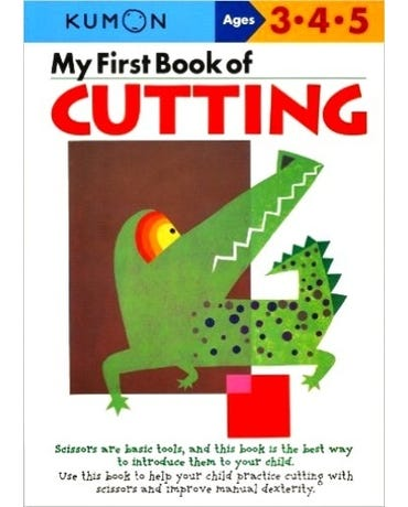 My First Book Of Cutting - Ages 3-4-5