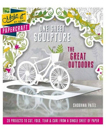 Make It By Hand Papercraft - One Sheet Sculpture The Great Outdoors