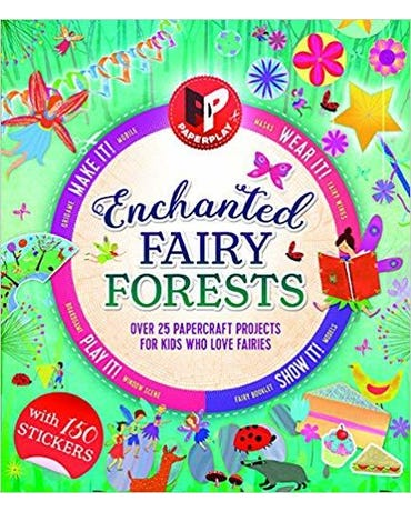 Enchanted Fairy Forest - Paperplay - With 100 Stickers