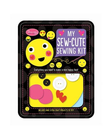 My Sew-Cute Sewing Kit - Everything You Need To Make A Mini Happy Face!