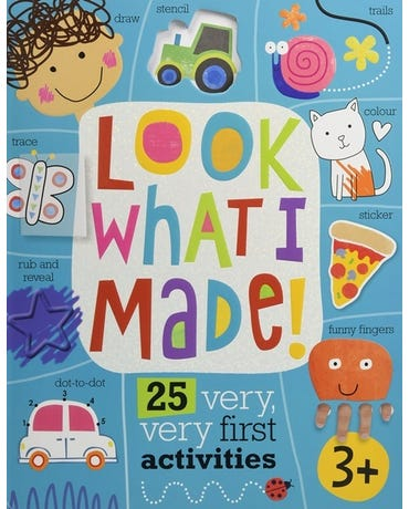 Look What I Made! - Activity Book With Stickers