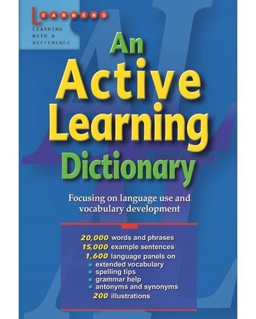 An Active Learning Dictionary