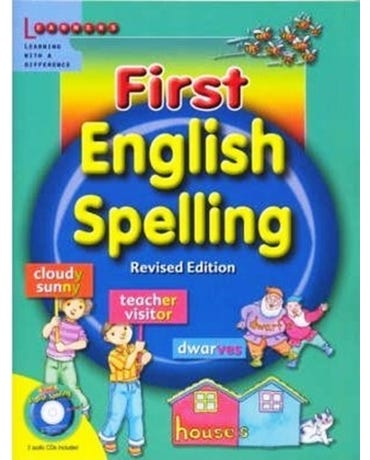 First English Spelling - Book With Audio Cds (2) - Revised Edition