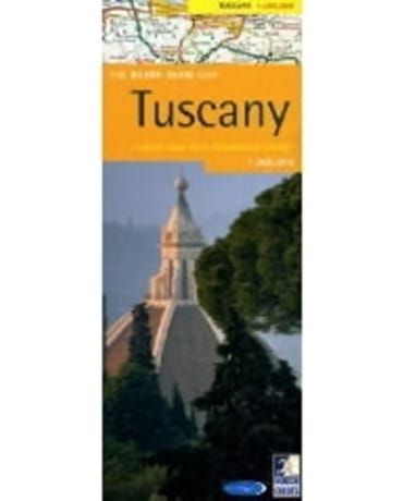 The Rough Guide Map Tuscany - Rough Guide Map