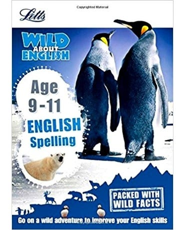 Wild About - English Spelling - Age 9-11