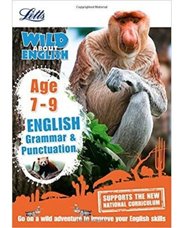 Wild About - English Grammar And Punctuation - Age 7-9