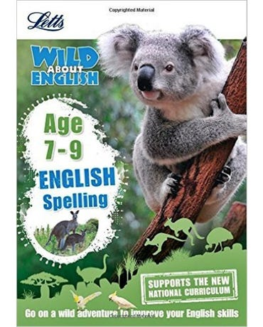 Wild About - English Spelling - Age 7-9