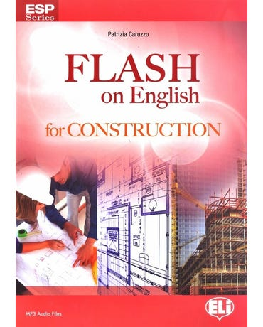 Flash On English For Construction - Book With Downloadable MP3 Audio Files