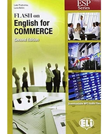 Flash On English For Commerce - Book With Downloadable MP3 Audio Files - Second Edition