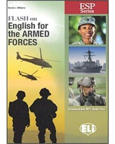 Flash On English For Armed Forces - Book With Downloadable MP3 Audio Files
