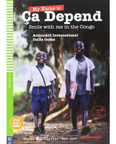 My Name Is Ça Depend - Hub Young Readers - Stage 4 - Book With Multi-Rom
