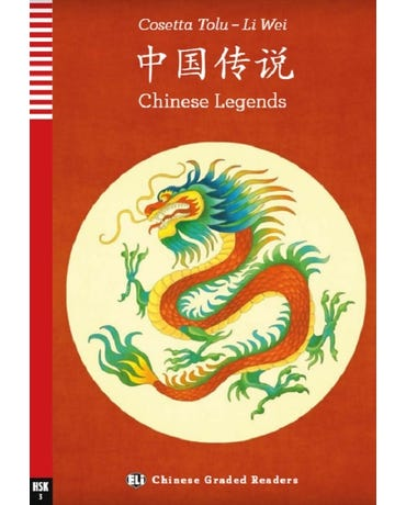 Chinese Legends - Hub Chinese Graded Readers - Teenagers - Hsk 3 - Book With Audio Donwload
