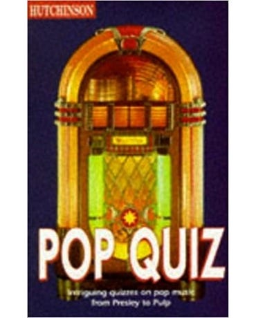 Pop Quiz Book - Helicon General Encyclopedias